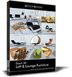 DOSCH 3D: Loft and Lounge Furniture